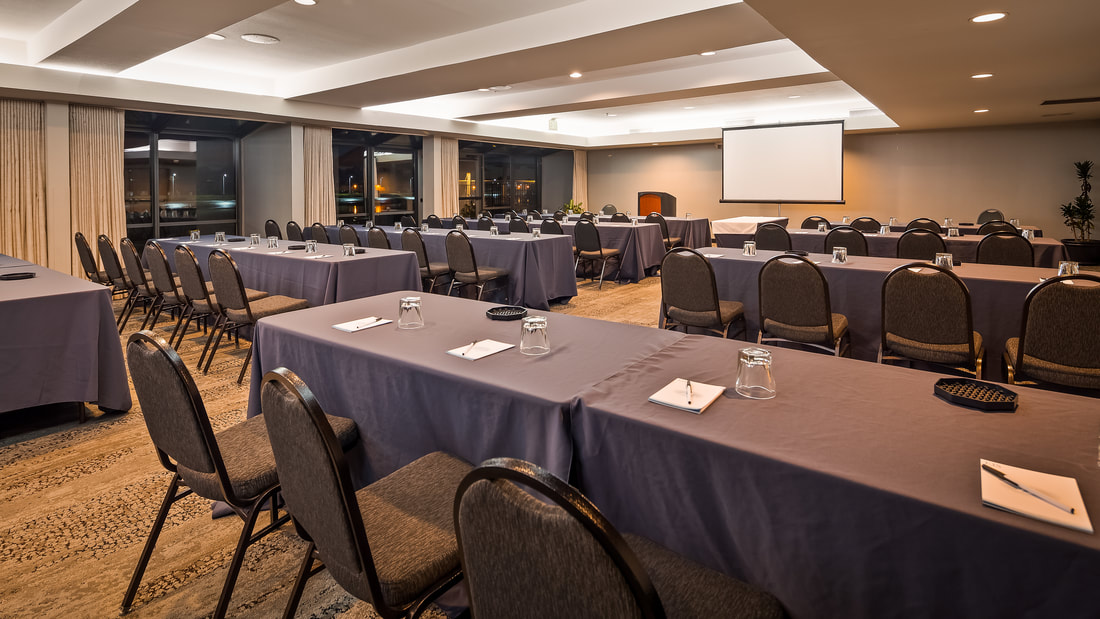 The Bayside Meeting Room at Executive Inn & Suites and Best Western Plus Bayside Hotel